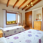 Finca Mallorca MA5675 Schlafraum mit 2 Betten