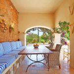 Finca Mallorca MA5832 überdachte Terrasse