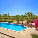 Finca Mallorca MA5832 Blick auf den Swimmingpool