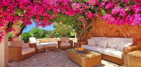 Mallorca Südostküste – Komfort Finca Cas Concos MA5832 mit Pool, Tennisplatz und Internet mieten. Wechseltag Samstag