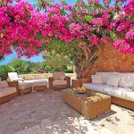 Finca Mallorca MA5832 Terrasse mit Sitzecke