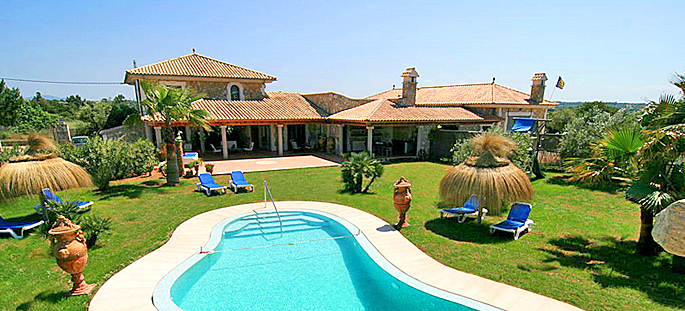 finca mallorca ma6007 mit pool und kinderspielplatz mieten. Black Bedroom Furniture Sets. Home Design Ideas