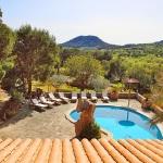Finca S'Horta MA5656 Blick über den Pool