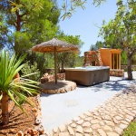 Finca S'Horta MA5656 Garten mit Whirlpool