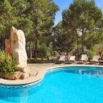 Finca S'Horta MA5656 Liegen am Pool