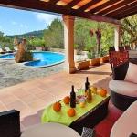 Finca S'Horta MA5656 Terrasse mit Ausblick