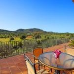 Finca S'Horta MA5656 Terrasse mit Panoramablick (2)