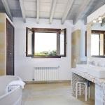 Luxus Ferienhaus Mallorca 5641 Bad mit Wanne