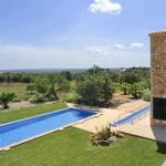 Luxus Ferienhaus Mallorca 5641 Blick auf den Pool