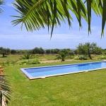 Luxus Ferienhaus Mallorca 5641 Pool im Garten