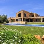 Luxus Ferienhaus Mallorca 5641 großer Garten