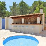Luxus-Finca Mallorca MA53375 Kinderpool am Grillhaus