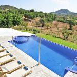 Luxus Finca Mallorca MA5470 Blick auf den Pool
