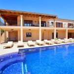 Luxus - Finca Mallorca MA5470 Poolterrasse mit Liegen