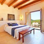 Luxus Finca Mallorca MA5470 Schlafraum mit Doppelbett