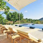 Luxus Finca Mallorca MA5470 Sonnenliegen am Pool