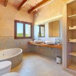 Luxus Finca Mallorca MA5470 Wannenbad