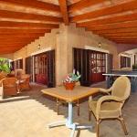 Mallorca Ferienhaus MA5645 überdachte terrasse (2)
