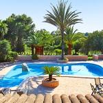 Mallorca Ferienhaus MA5645 Blick auf den Pool