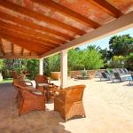 Mallorca Ferienhaus MA5645 Gartenmöbel (2)