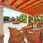 Mallorca Ferienhaus MA5645 Sitzmöbel auf der Terrasse