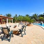 Mallorca Ferienhaus MA5645 Terrasse am Pool