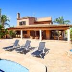 Mallorca Ferienhaus MA5645 Terrasse mit Liegen