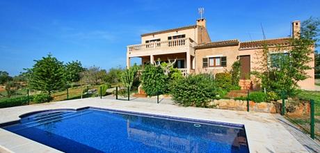 Mallorca Südostküste – Ferienhaus Cas Concos 5683 mit Pool, Grundstück 3.500qm, Wohnfläche 170qm. An- und Abreisetag flexibel – Mindestmietzeit 1 Woche. 2018 buchbar.