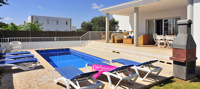 Ferienhaus Mallorca Cala D'Or 5665 mit Pool