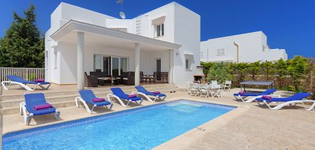 Mallorca Südostküste – Komfort Villa Cala D'Or 5665 mit Pool und Internet in Strandnähe (1,1km). Wechseltag Samstag.
