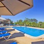 Ferienhaus Mallorca barrierefrei MA5320 Liegen am Pool
