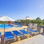 Ferienhaus Mallorca barrierefrei MA5320 Sonnenliegen am Pool