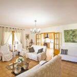 Ferienhaus Mallorca barrierefrei MA5320 Wohnraum mit TV