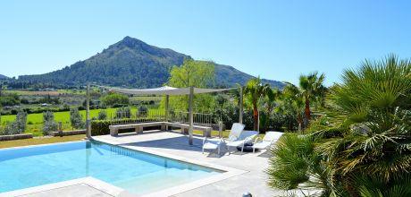 Mallorca Nordküste – Deluxe – Villa Pollensa 5150 mit Pool und Internet für 10 Personen. Wechseltag Samstag. 2019 buchbar!