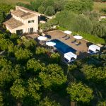Luxus Finca Mallorca MA3260 Anwesen von oben
