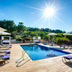 Luxus Finca Mallorca MA3260 Gartenmöbel um den Pool