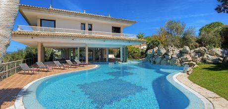 Mallorca Nordost – Komfort-Villa Alcudia 5002 mit großem Pool und Innenpool mit herrlichem Panoramablick, Strand 4,5km. Wechseltag nur Samstag.