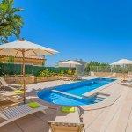 Villa Mallorca MA5004 Pool mit Gartenmöbeln