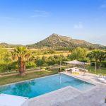 Villa Mallorca MA5150 Blick über den Pool