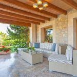 Villa Mallorca MA5150 Gartenmöbel auf der Terrasse