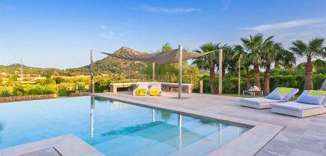 Mallorca Nordküste – Deluxe – Villa Pollensa 5150 mit Pool und Internet für 10-11 Personen. Wechseltag Samstag.