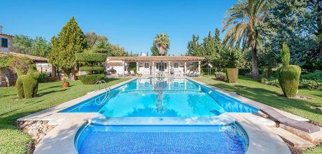 Mallorca Nordküste – Villa Puerto Pollensa 5290 mit Pool, Internet und Tennisplatz mieten. Wechseltag Samstag.