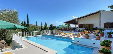 Mallorca Nordküste – Komfort – Ferienhaus Puerto Pollensa 5358 mit Pool für 12 Personen, Strand 2,3km. An- und Abreisetag Samstag!