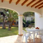 Ferienhaus Mallorca MA4855 - überdachte Terrasse