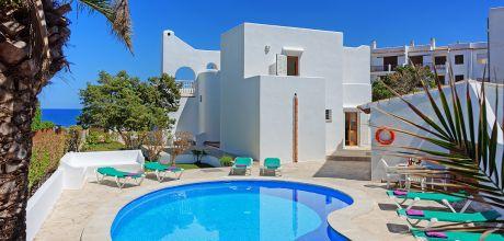 Mallorca Südostküste – Ferienhaus Cala D'Or 4855 mit Pool und Meerblick in Strandnähe (ca. 600m). Wechseltag Samstag, Nebensaison flexibel – Mindestmietzeit 1 Woche.
