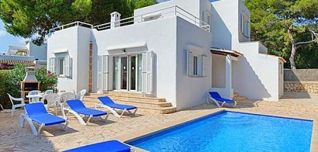 Mallorca Südostküste – Ferienhaus Cala D'Or 4929 mit Pool & Internet in Strandnähe (ca. 80m). Wechseltag Samstag. – 2018 jetzt buchen!