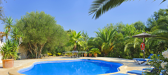 Finca Mallorca MA4842 mit Garten und Pool