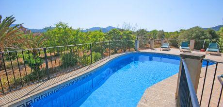 Mallorca Südostküste – Finca Cas Concos 4009 mit Pool, Grundstück 30.000qm, Wohnfläche 200qm, Wechseltag Samstag, Nebensaison flexibel – Mindestmietzeit 1 Woche.