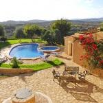 Finca Mallorca MA4882 Blick über den Pool