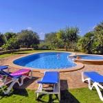 Finca Mallorca MA4882 Liegen am Pool